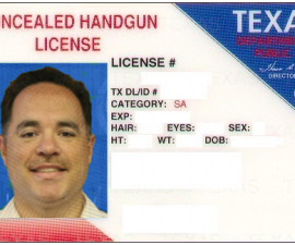 Texas Concealed Carry Gun Laws