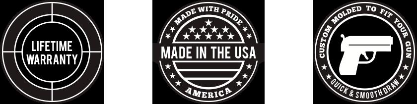 american made gun holster company