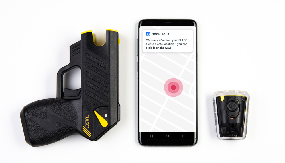 Taser Pulse Plus Gun